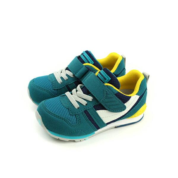 HUMAN PEACE:Moonstar運動鞋機能運動鞋魔鬼氈好穿舒適深綠色中童童鞋MSC2121S1no076