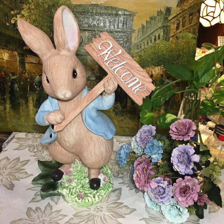 *朵菈傢飾* 彼得兔存錢筒 40cm立兔