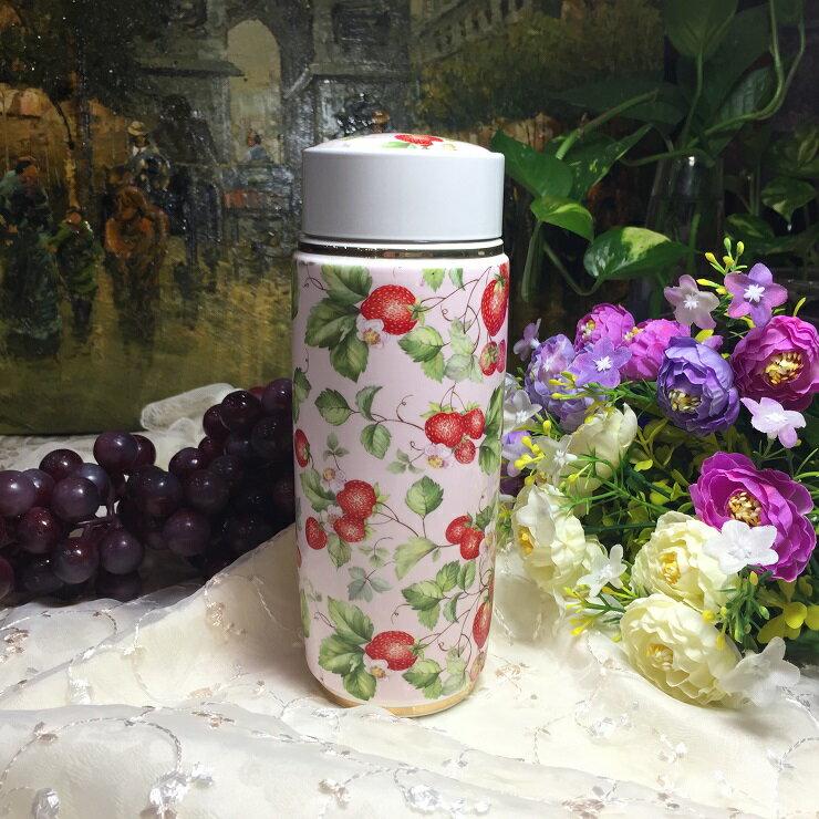 *朵菈傢飾* 經典款-雙層陶瓷保溫瓶/隔熱雙層杯 杯口7cm 高18.5cm