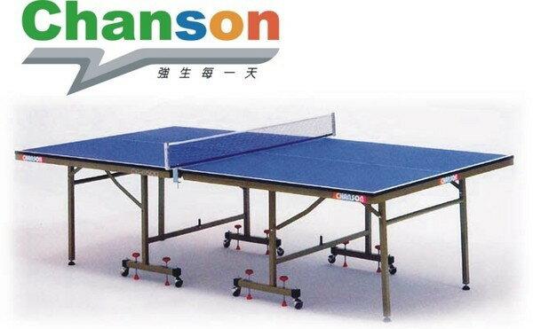 【1313健康館】Chanson強生牌 CS-6500高級桌球桌(板厚19mm)專人到府安裝-
