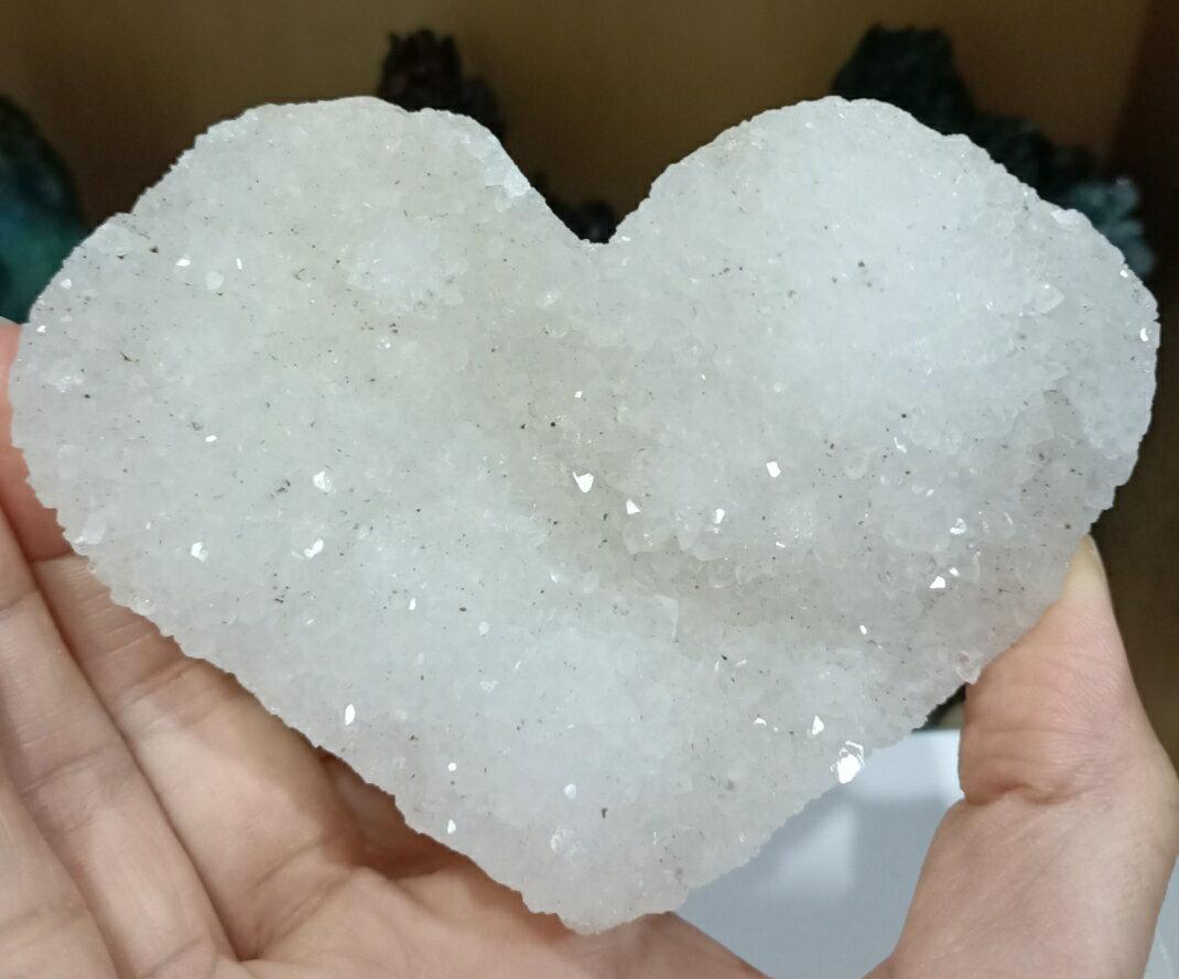 天然沸石愛心