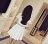 短袖洋裝 - 韓版純色拼接透視網格連身裙【27109】藍色巴黎《黑 / 白》☞ 現貨商品 2