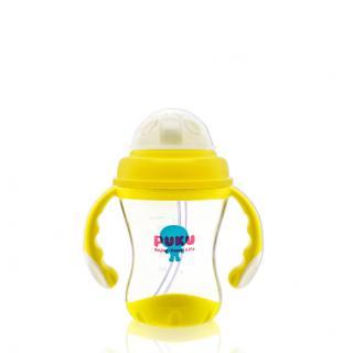 『121婦嬰用品館』PUKU 太空彈跳吸管練習杯 180ml 0