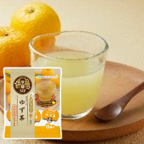 Sakura濃縮高知柚子茶球6個入144g柚子茶隨手包ゆず茶ポーションタイプ日本進口