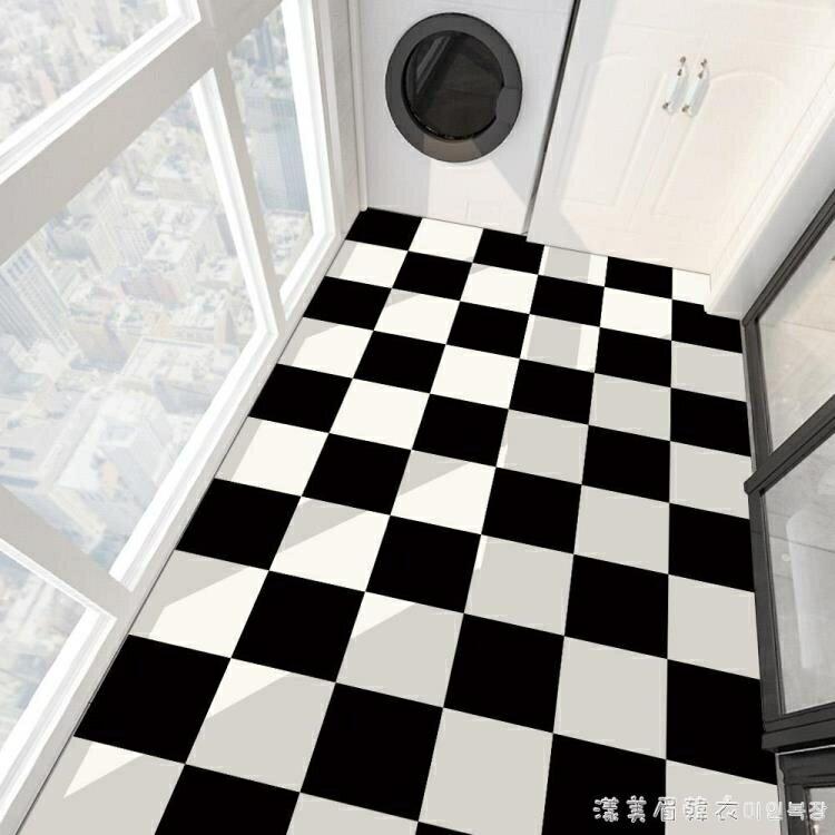 衛生間防水地貼防滑浴室地板貼自粘廚房防油防潮墻面裝飾瓷磚貼紙NMS小山好物