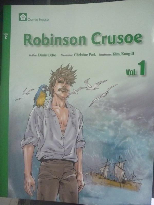 【書寶二手書T3/少年童書_ZBU】obinson Crusoe Vol.1_Daniel Defor