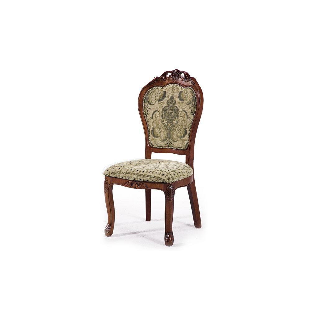 歐式法式緹花房間椅餐椅會客椅餐桌椅休閒椅辦公椅書桌椅化妝椅電腦椅【163B45507】Leader傢居館308B柚無扶手