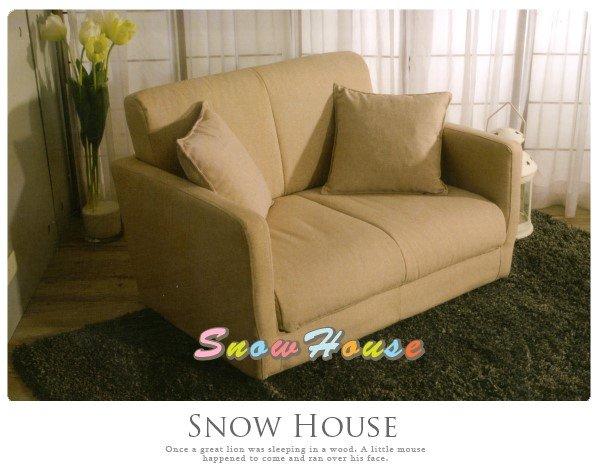 ╭☆雪之屋居家生活館☆╯AA489-02青木雙人沙發床(含抱枕)沙發椅造型沙發雙人沙發三人沙發