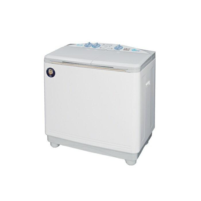 SANLUX 三洋 10KG雙槽洗衣機 SW-1068 /新式大迴轉盤,立體下噴射功能