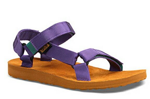 [ 陽光樂活 ] TEVA ?女段織帶運動涼鞋 海灘鞋 ?深紫TV1008639DPP
