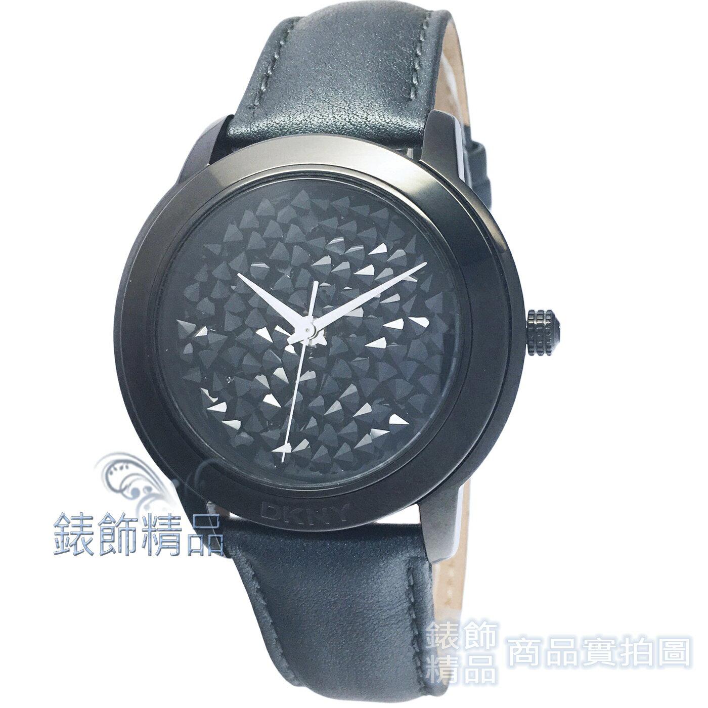 【錶飾精品】DKNY手錶 NY8434 玩酷黑勢力 耀眼晶鑽 黑 女錶 全新原廠正品