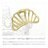 日本CREAM DOT  /  バンスクリップ ヘアクリップ レディース 小さめ ミニ ブランド ヘアアクセサリー シェルモチーフ マット 大人 上品 エレガント 華奢 シンプル フェミニン ゴールド シルバー  /  a03599  /  日本必買 日本樂天直送(1098) 1