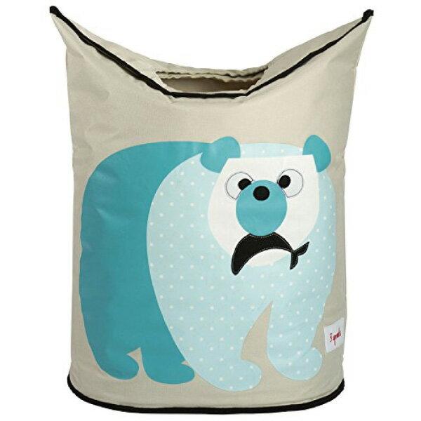 加拿大 3 Sprouts 洗衣籃 藍天白熊【 貨】