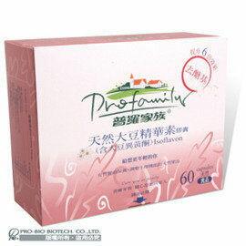 普羅拜爾 天然大豆精華素 450mg*60顆  盒