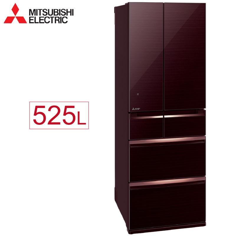 【三菱 MITSUBISHI】525公升 六門變頻電冰箱-水晶棕 MR-WX53C-BR-C