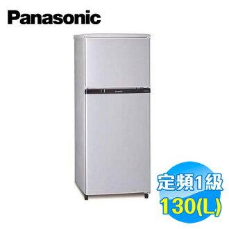 國際 Panasonic 130公升 雙門冰箱 NR-B138TSL