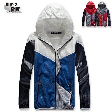 ☆BOY-2☆【NM9122】型男風衣防風運動連帽外套 現+預 0