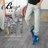 ☆BOY-2☆【NR30176】鬼洗單寧復古刷色刷破格紋口袋牛仔褲 0