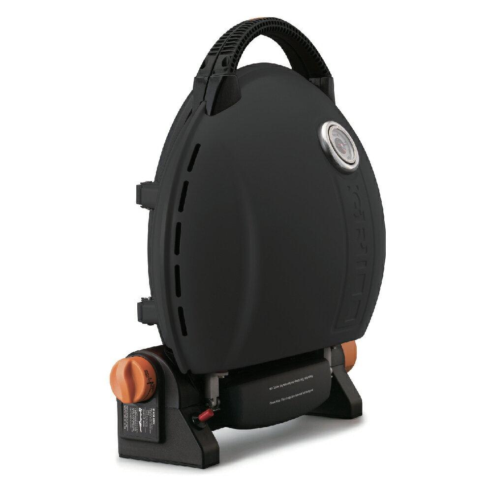 O-Grill 3500T 美式時尚可攜式瓦斯烤肉爐 - 個性黑