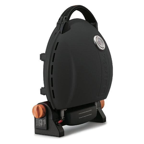 歐肯得:O-Grill3500T美式時尚可攜式瓦斯烤肉爐-個性黑