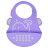 【任二入95折】Marcus & Marcus - 動物樂園矽膠立體圍兜 5