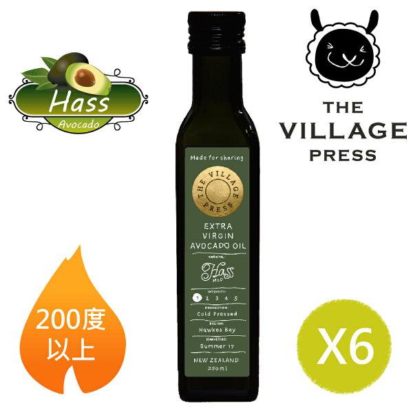 壽滿趣:【壽滿趣-紐西蘭廚神系列】頂級冷壓初榨黃金酪梨油(250ml六瓶量販裝)
