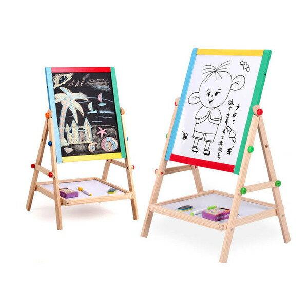兒童可升降雙面小畫板