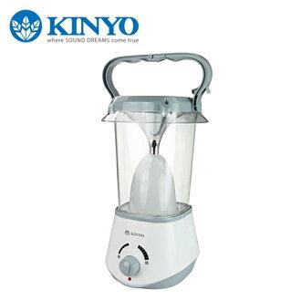 KINYO 耐嘉 充電式高亮度LED露營燈 CP-02【三井3C】