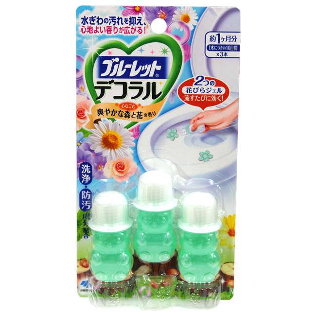 小林製藥花型馬桶凝膠 除臭劑-綠色森林香