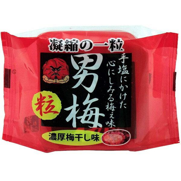 【江戶物語】NOBEL 諾貝爾 男梅粒 隨身罐 14g 隨手盒 濃厚梅干味 凝縮的一粒 糖果 零食 梅干糖 日本進口