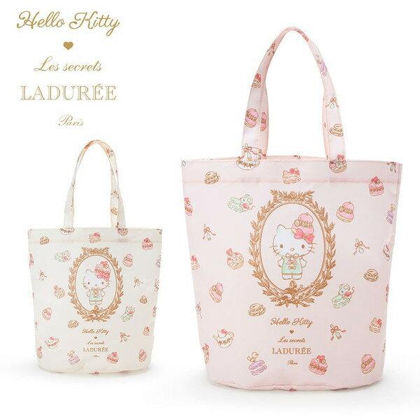 <br/><br/>  X射線【C590001】Hello Kitty x LADUREE 限量聯名款環保購物袋-粉,美妝小物包/筆袋/面紙包/化妝包/零錢包/收納包/皮夾/手機袋/鑰匙包<br/><br/>