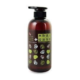 【淘氣寶寶】【木酢達人】木酢控油洗髮精490ml【#23301】中長髮適用