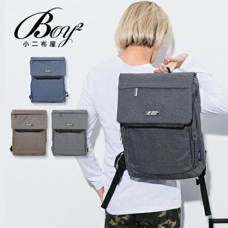 ☆BOY-2☆【NQA5083】男背包 素面翻蓋機能後背包 潮流型男包 0