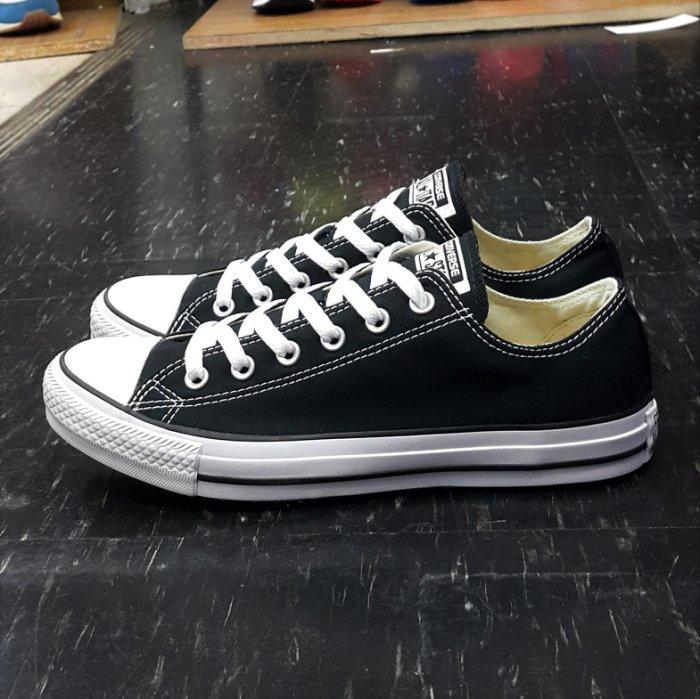 Converse Chuck Taylor All Star 基本款 低筒 帆布 黑色 黑白 M9166C