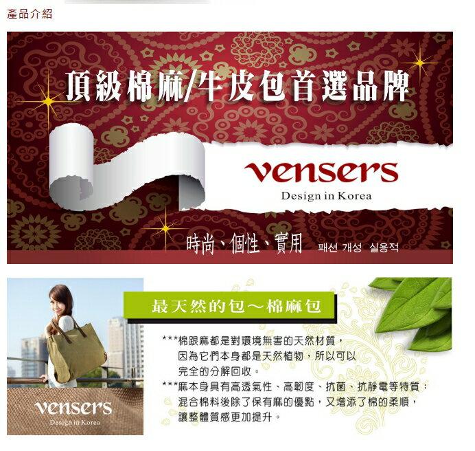 【vensers】簡約丹寧牛仔後背包(R00066302淺灰) 6