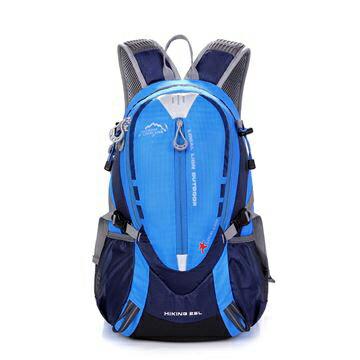 良林皮件:【LocalLion】25L輕量休閒運動背包腳踏車背包(藍)441BU