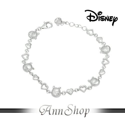 AnnShop~迪士尼Disney‧甜蜜維尼手鍊~~ ~銀飾飾品 情人 S1WB905