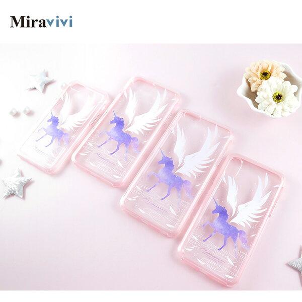 Miravivi獨角獸iPhneX二合一雙料殼套