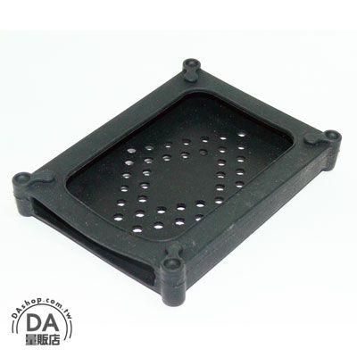《DA量販店》顏色隨機 軟矽膠 2.5吋 各式 IDE/SATA 硬碟專用 防震 防塵 果凍套 (20-874)