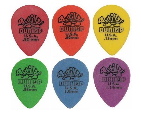 DUNLOP 水滴形(小)烏克麗麗/木吉他/民謠吉他/電吉他/電貝斯 Bass 用 PICK 彈片【唐尼樂器】