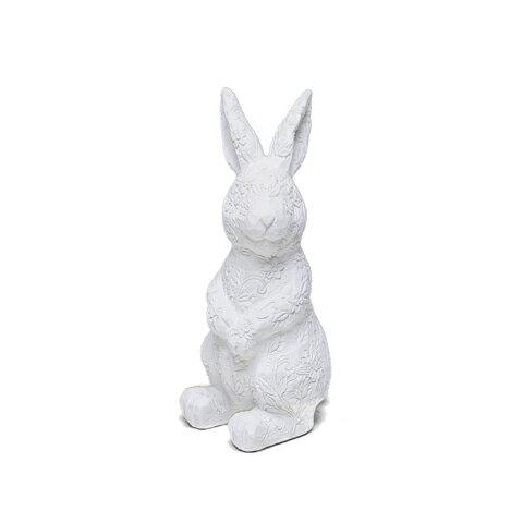 縱身花叢的白兔(S)