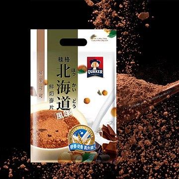 安康藥妝 【桂格】北海道榛果可可鮮奶麥片28g*12入/ 袋