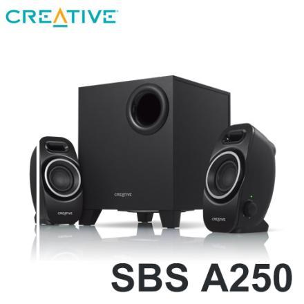 創巨 Creative SBS A250 2.1聲道喇叭★★★全新原廠公司貨含稅附發票★★★
