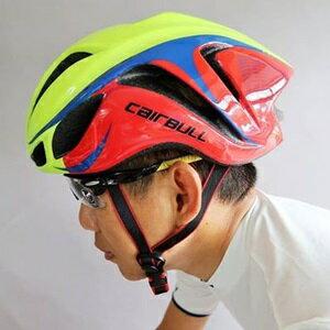 美麗大街【BK105102701】搶眼配色! 一體成形輕量公路車自行車安全帽 空氣動力帽