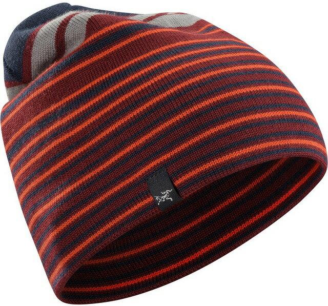 Arcteryx 始祖鳥 保暖帽/毛帽/滑雪/登山/旅遊/背包客 Rolling Stripe 15222 羊毛保暖帽 阿拉蒙褐Arc'teryx