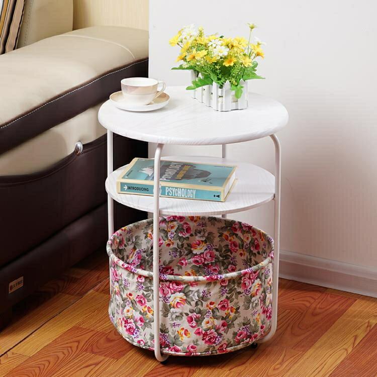 床頭櫃 簡約現代床頭櫃北歐小櫃子迷你收納邊櫃超窄臥室經濟型簡易儲物櫃 閒庭美家