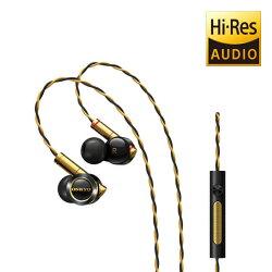 ONKYO E900M Hi-Res混合結構入耳式耳機-黑色 有線 入耳式 耳機 線控【迪特軍】