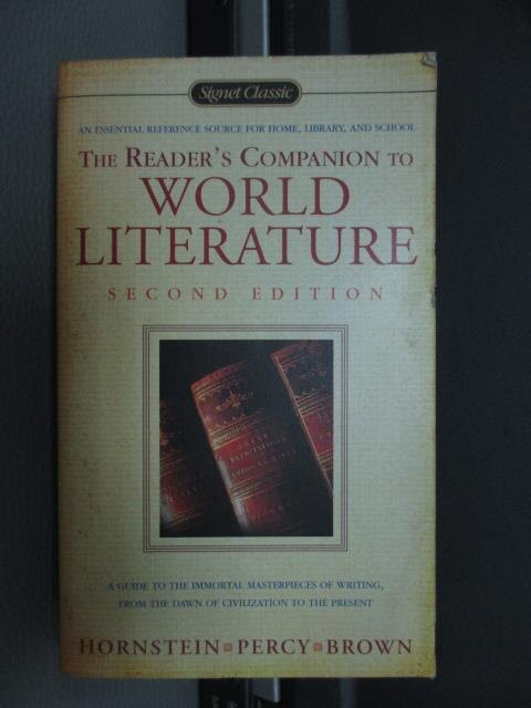 【書寶二手書T9/原文小說_NDS】The reader's companion to world..._1984