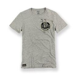美國百分百【全新真品】Ralph Lauren T-shirt 短袖 T恤 RL 上衣 polo XS M 合身版 灰 I104