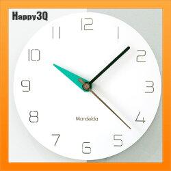 時鐘掛鐘簡約造型北歐風格時鐘創意牆壁時鐘壁鐘客廳時鐘-綠/黃/紫【AAA4533】